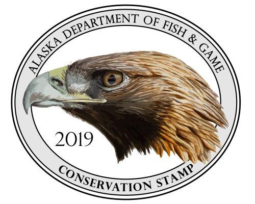 ADFG Conservation Stamp - GOEA 2019-01